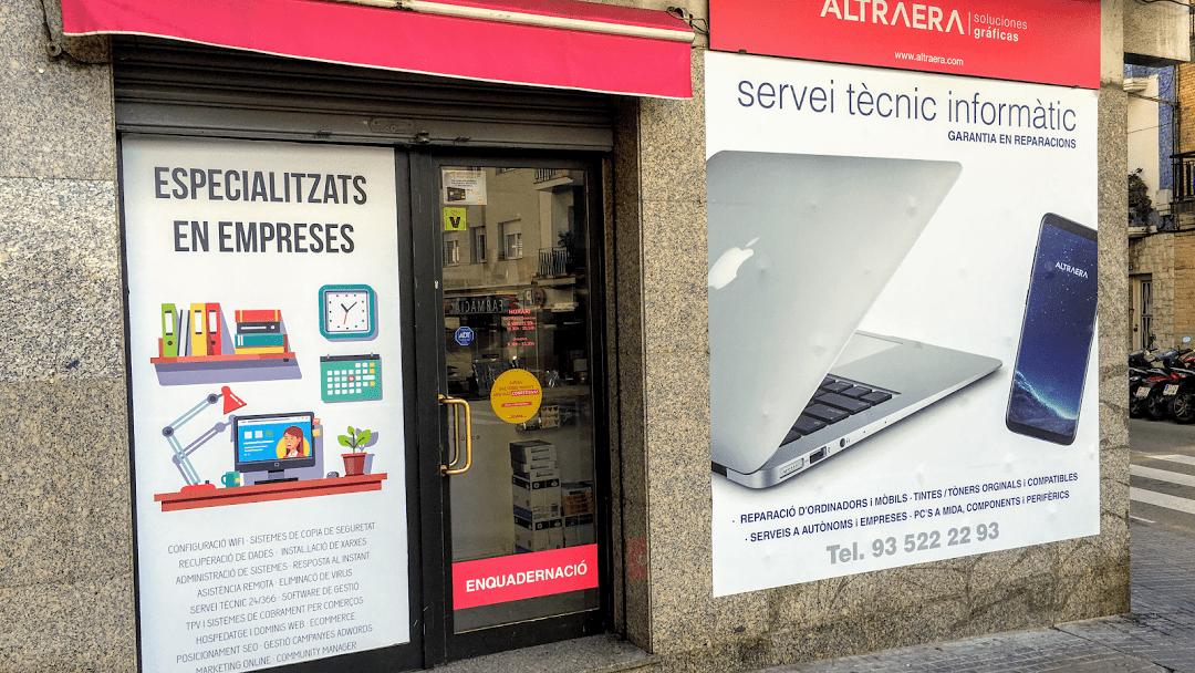 Tienda de informática en Sitges
